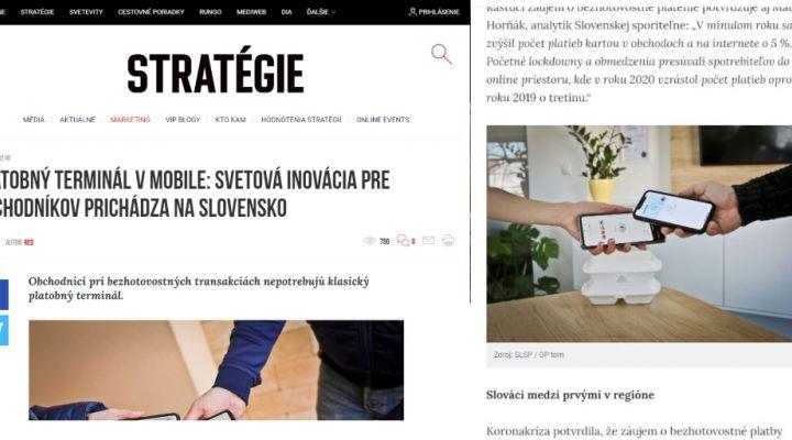 Spoločná stratégia so Slovenskou sporiteľňou