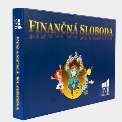Odporúčaná exkluzívna stolová hra Finančná sloboda